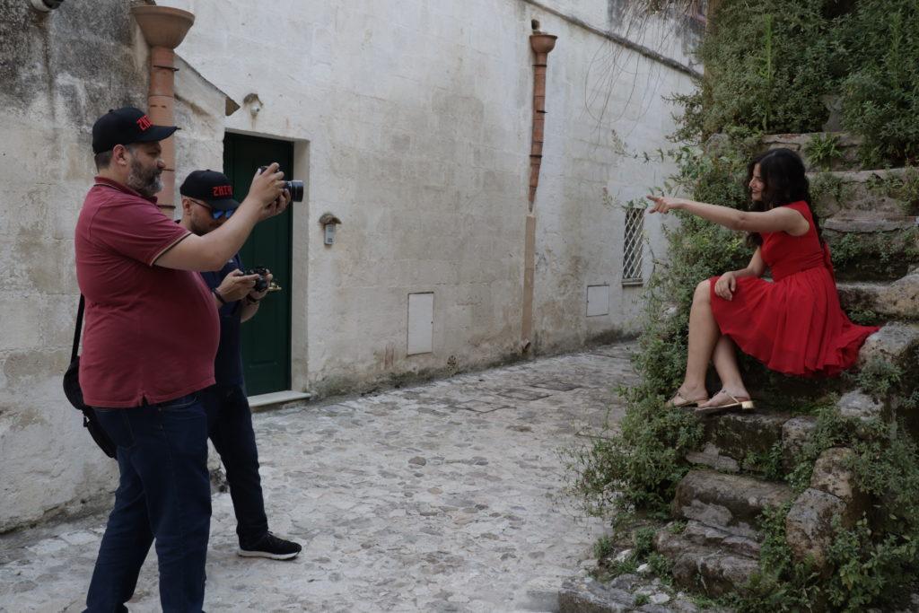 Ugo Baldassarre a Matera workshop gratuito universo foto