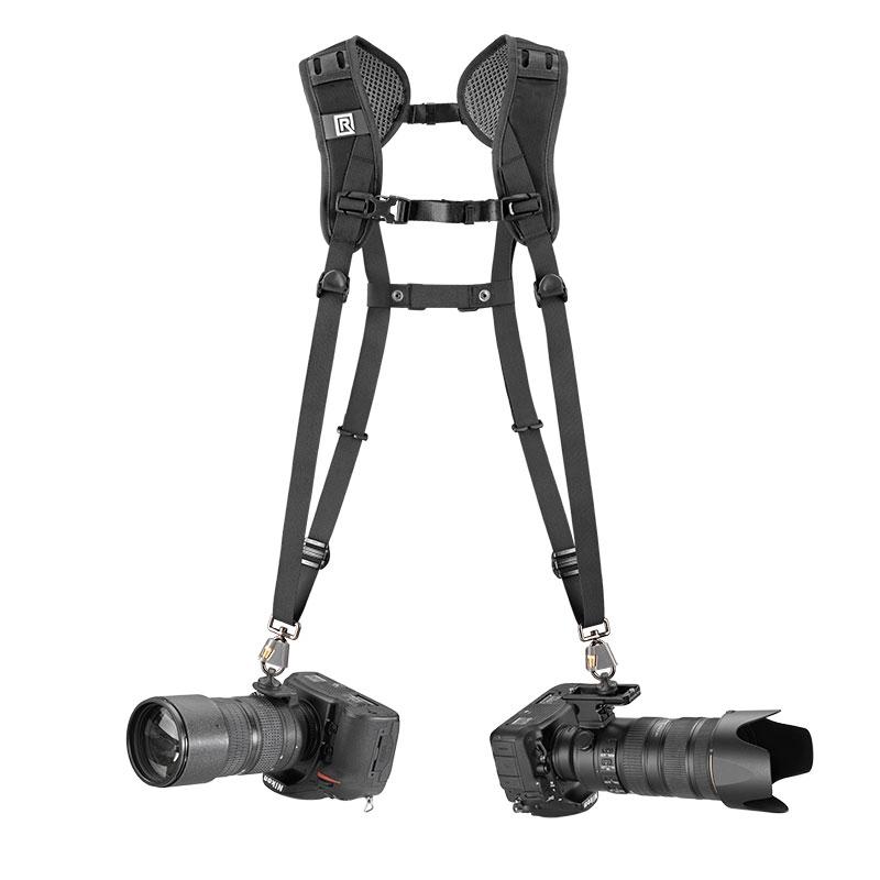 doppia cinghia tracolla per fotocamera  blackrapid
