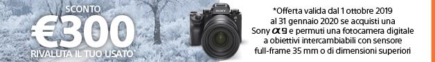 Promo Winter Sony rivaluta il tuo usato 300 euro