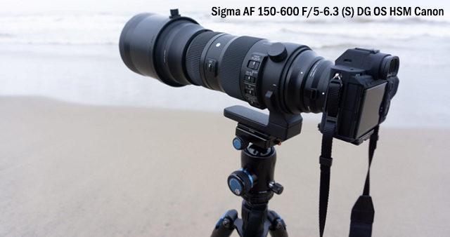 SIGMA AF 150-600 canon
