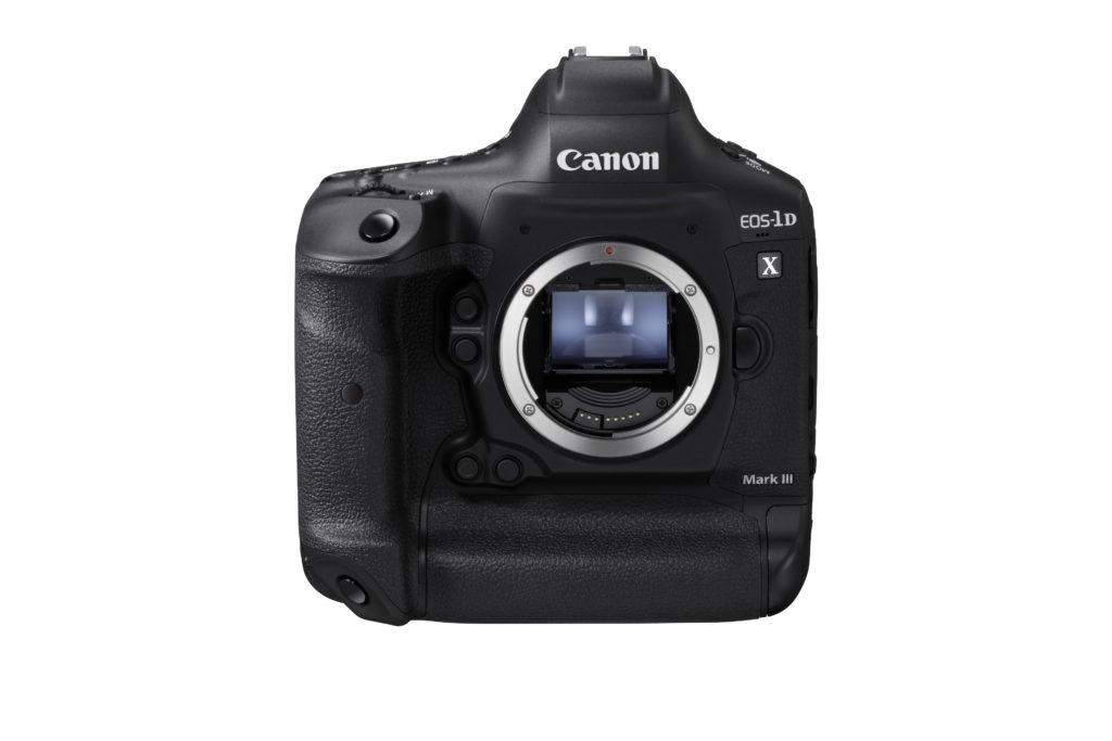 Canon-EOS-1D-X-Mark-3-nera-fronte