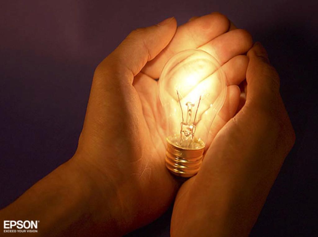 luce e colore lampadina