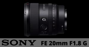 Sony-FE-20mm-F1.8-G-lente
