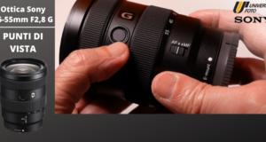 Ottica-Sony-16-55mm-F2,8-G-EV