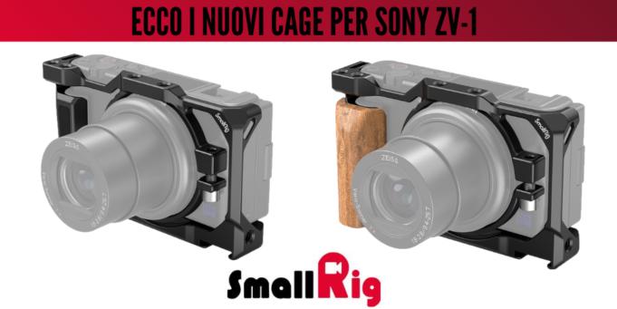 ecco-i-nuovi-cage-smallrig-per sony-zv1-ev