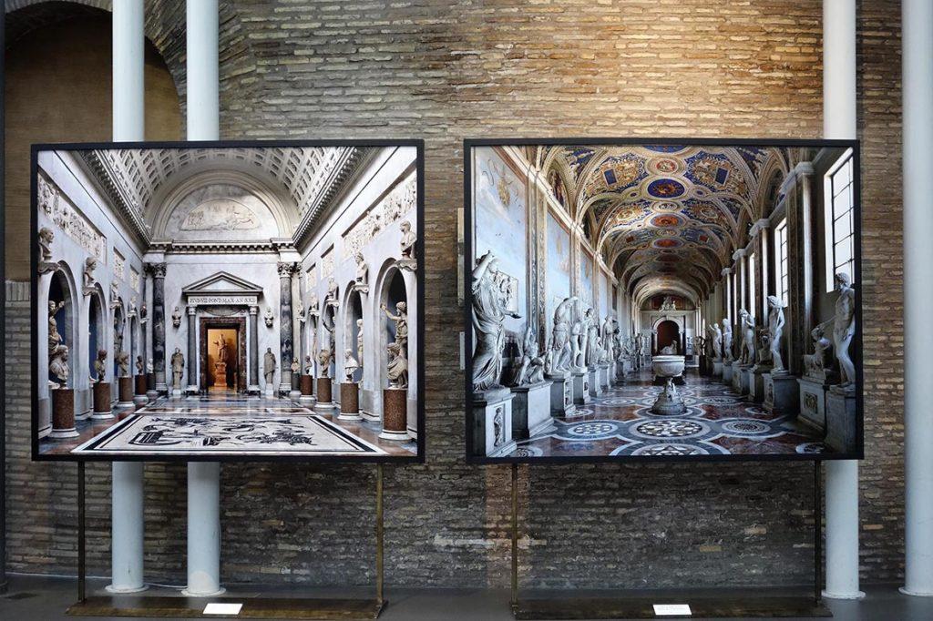 M._Listri_ai_Musei_Vaticani-stampa-fotografica-d-arte