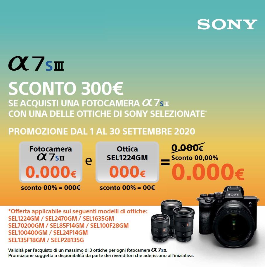 sconto-sony-a7s-iii-con-ottica