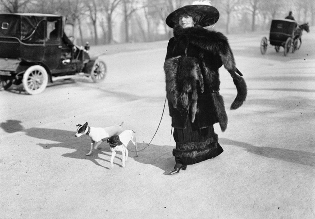 4-Jacques-Henri-Latigue-opere-Anna-la-Pradvina-La-signora-con-la-volpe-1911.