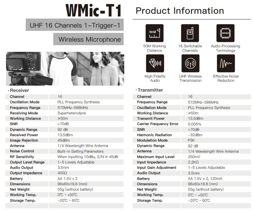 caratteristiche-microfono-lavalier-wireless-synco-wmic-t1