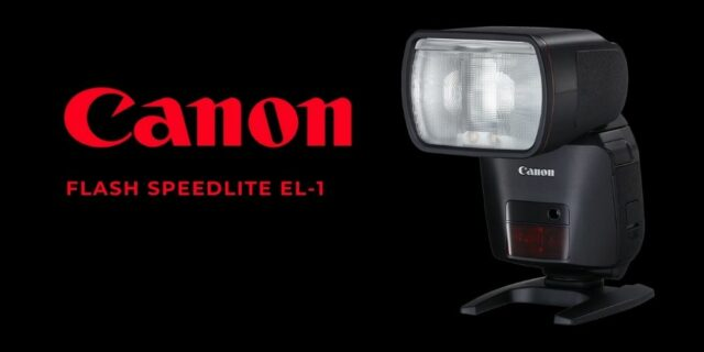 flash speedlite el-1-ev