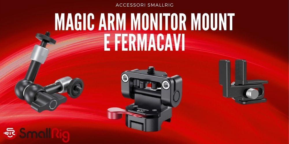 magic-arm-bracico-magico-monitor-mount-cable-clamp-accessori-cage-smallrig-ev