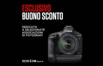 sconto-canon-eos-1d-x-mark-iii-500-euro-associazioni-ev