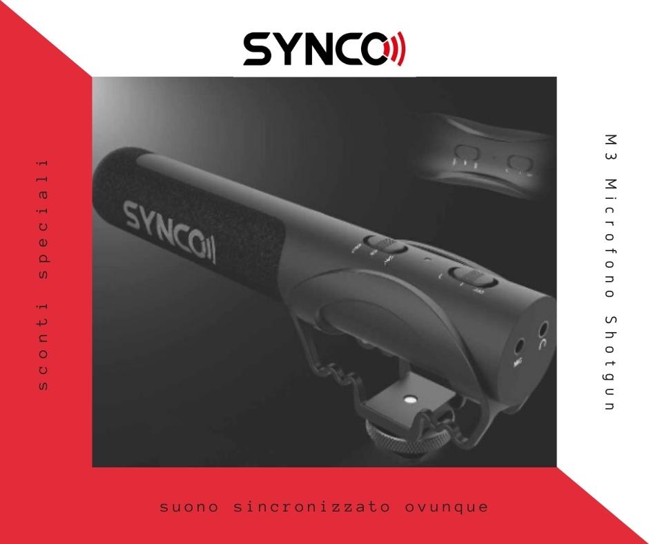 M3-Microfono-Shotgun-per-videomaker-idee-regalo-per-fotografia