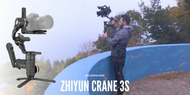 ev-zhiyun-crane-3s-caratteristiche-recensioni-gimbal-stabilizzatori