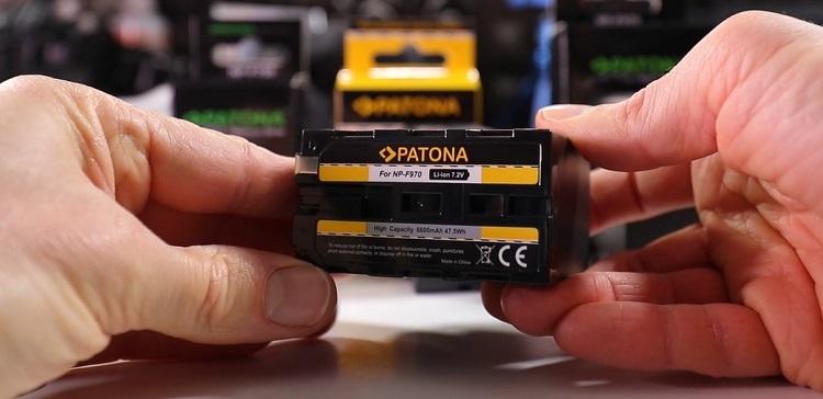 batteria-illuminazione-led-patona-np-f970