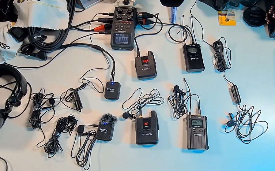 test-microfoni-synco-comparazione-lavalier