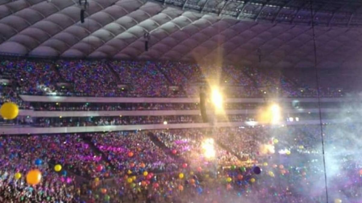 fotografia di un concerto