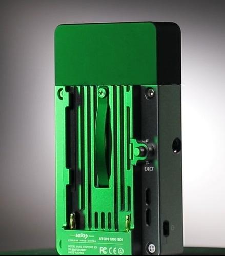 blocco-batteria-sistema-trasmissione-wireless-video-atom-sdi-vaxis