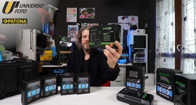 batterie patona v mount foto e video