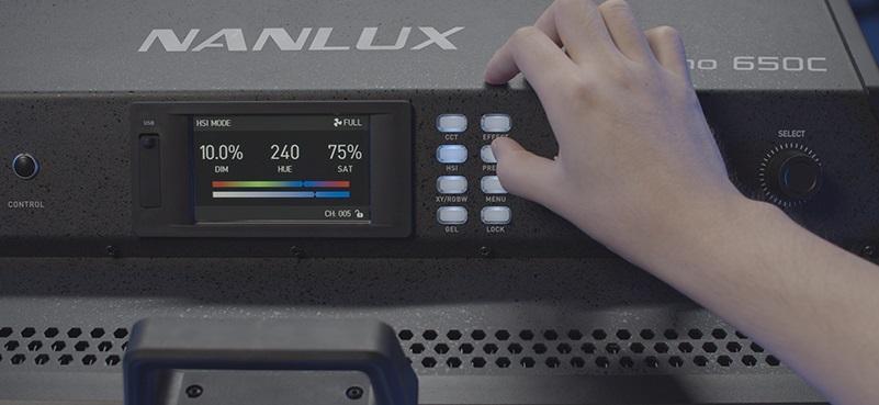 nanlux-dyno-650c-display