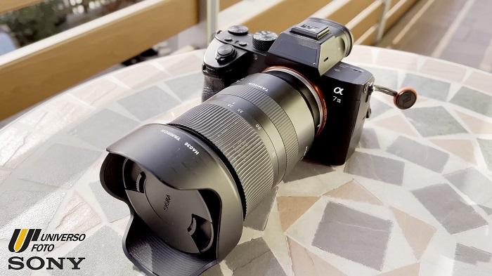 Sony A7S III con obiettivo