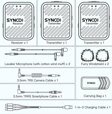 uscite-audio-microfono-lavalier-senza-fili-synco-g1-a2