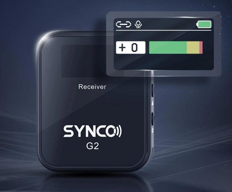 1-display-microfono-a-lavalier-senza-fili-synco-g2-a1