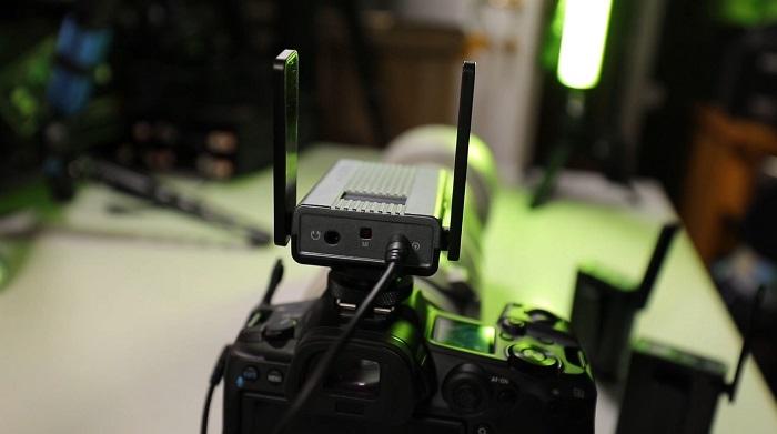 synco-ts-installato-sulla-fotocamera