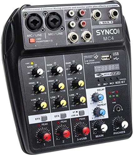 synco-mc4-mixer-audio