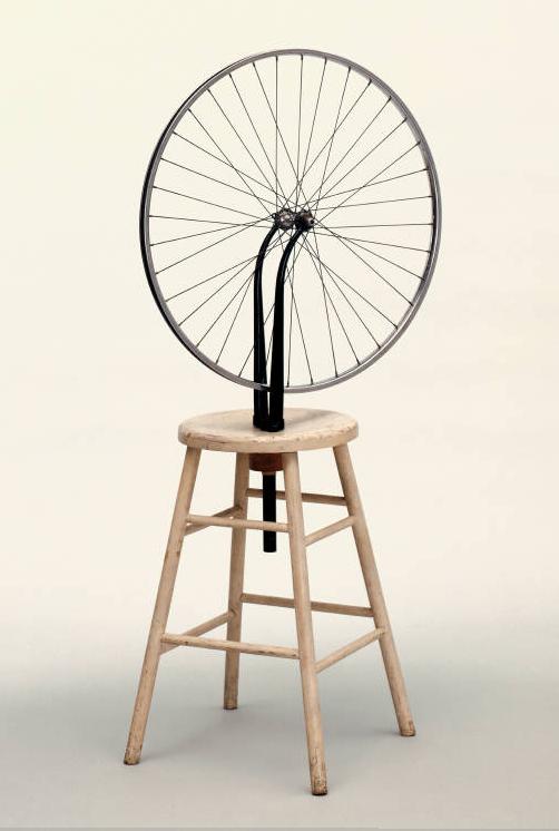 06-03._Marcel_Duchamp_-_Ruota_di_bicicletta