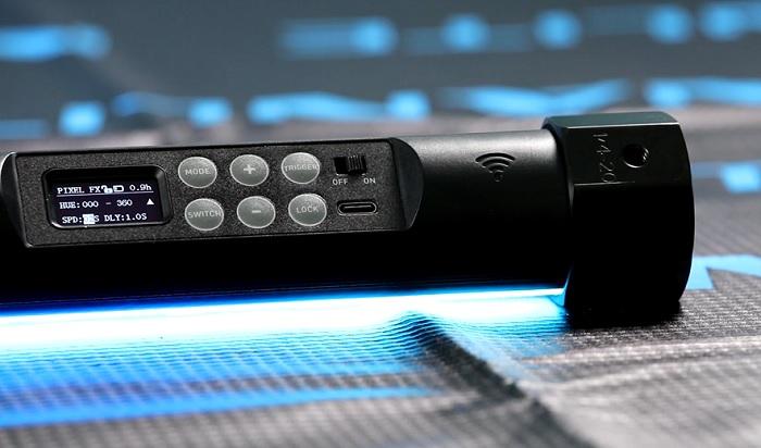 pannello-di-controllo-e-comandi-nuovo-tubo-led-nanlite-pavotube-ii-x